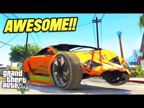 GTA 5 VEHICLE DESTRUCTION MOD! (GTA 5 Mods)