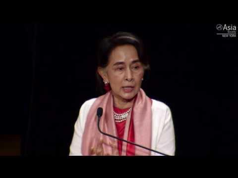 Aung San Suu Kyi Speaking at Asia Society