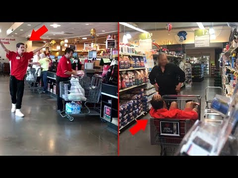 Fake Jewel-Osco Employee Prank!!