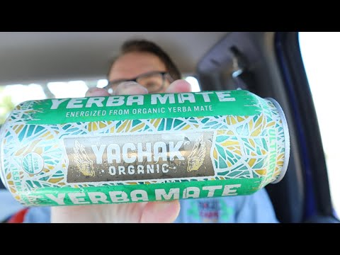 Yachak Yerba mate organic vegan and fair trade Mint review and first impressions