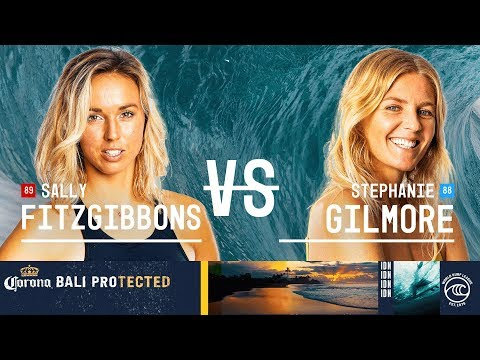 Sally Fitzgibbons vs. Stephanie Gilmore - FINAL - Corona Bali Protected W 2019