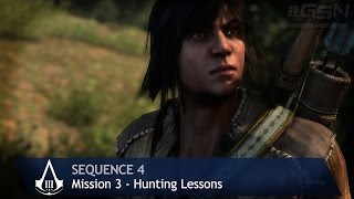 Assassin's Creed 3 - Sequence 4 - Mission 3 - Hunting Lessons (100% Sync)