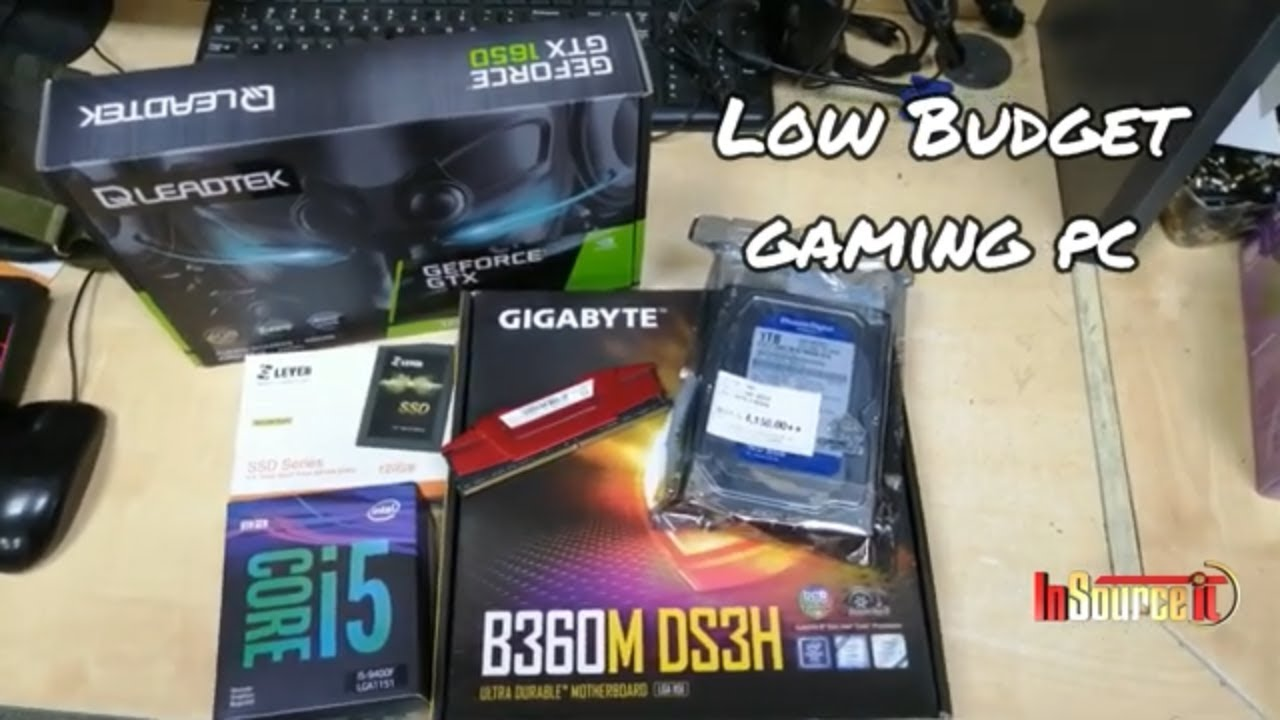 Low Budget gaming pc build | Intel Core i5 9400F Processor with Gigabyte B360M DS3H Mobo & 120GB