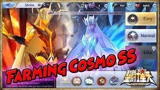 Guide Farming Cosmo Ss Open 12 Box Cosmo Ss Saint Seiya Awakening Youtube