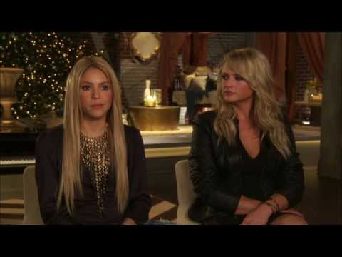"The Voice: Season 6 ""Battle Rounds"": Shakira & Miranda Lambert Interview"
