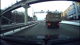 Авария на пересечении Репина Гурзуфская