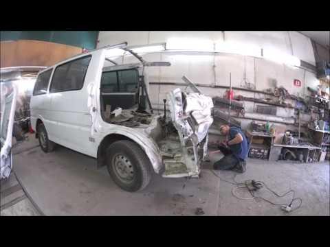кузовной ремонт mazda bongo