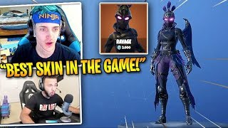 STREAMERS REACT TO *NEW* EPIC RAVAGE SKIN!! - Fortnite Battle Royale Best Moments & Plays