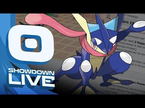 """Happy Hour Greninja"" Mega Metagross Suspect #2 - Pokemon Sun & Moon OU Showdown Live w/PokeaimMD"