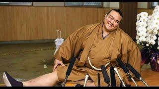 Kisenosato, 30, was promoted to the top-most yokozuna rank after hi...