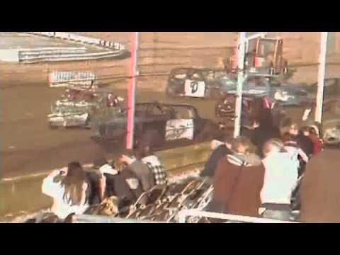 "Terre Haute ""Valley Bash"" 2010 Compact Cars Demolition Derby"