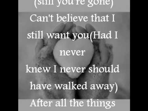 I never told you Colbie Calliat lyrics