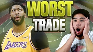What You Don't KNOW About The Anthony Davis Trade 😱The WORST Trade in NBA History