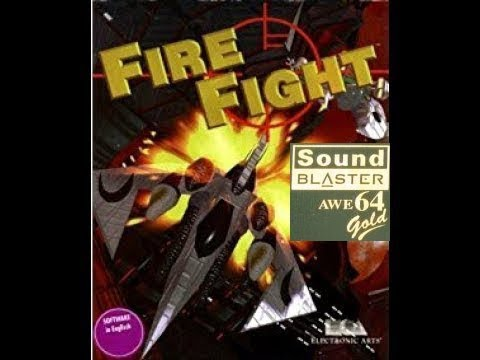 Fire Fight (Chaos Works, PC, 1996) - Gameplay, Soundblaster AWE64 Gold MIDI Music