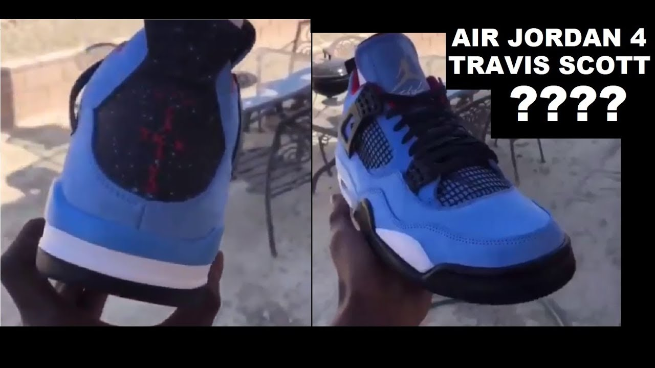 new products c0ab0 63c65 TRAVIS SCOTT x AIR JORDAN 4 RETRO SNEAKER