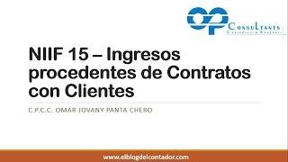 ¿Cómo aplicar la NIIF 15   Ingresos procedentes de contratos con clientes'