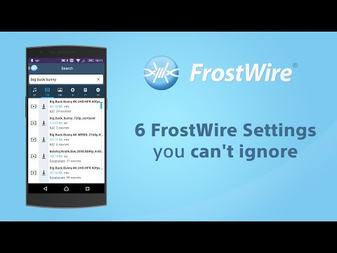 6 FrostWire for Android Settings you can't ignore