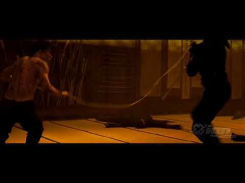 Ninja Assassin Fight Scene Clip #1