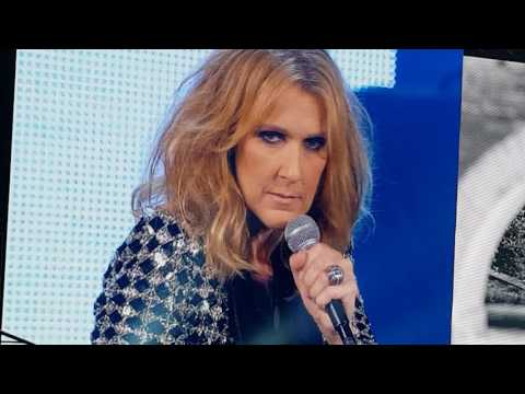 Céline Dion- Paris July 8th 2017- Encore Un Soir