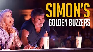 Every Simon Cowell Golden Buzzer EVER on America's Got Talent! Which One's Your Favorite?