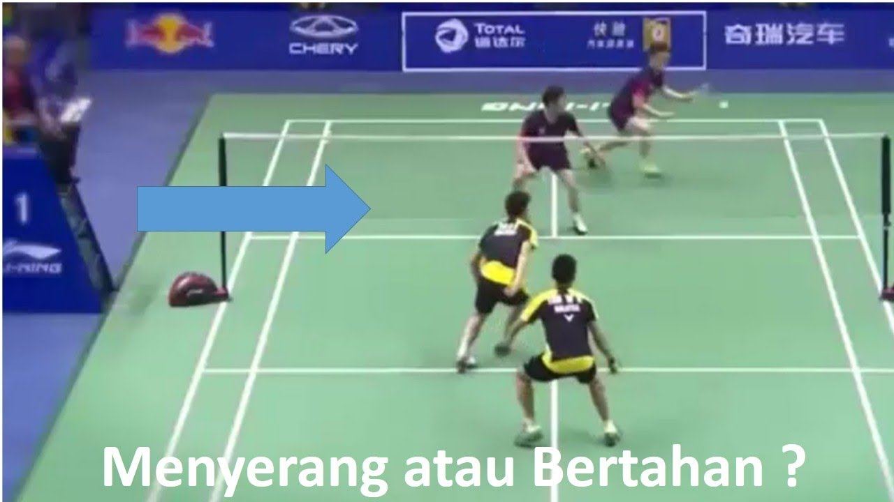 Posisi Benar Bermain Ganda Badminton Badminton Tips Youtube