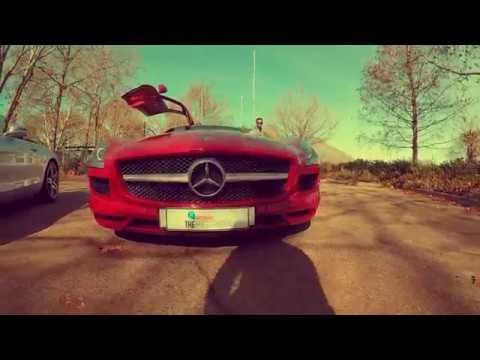 MERCEDES SLS VS SLS | CAPE TOWN | HD