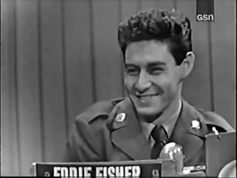 What's My Line? - Eddie Fisher (Oct 19, 1952)