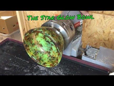 The Epoxy Star Glow Bowl