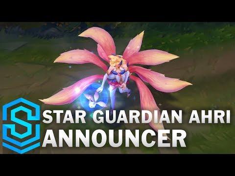 Star Guardian Ahri   Summoners Rift Announcer