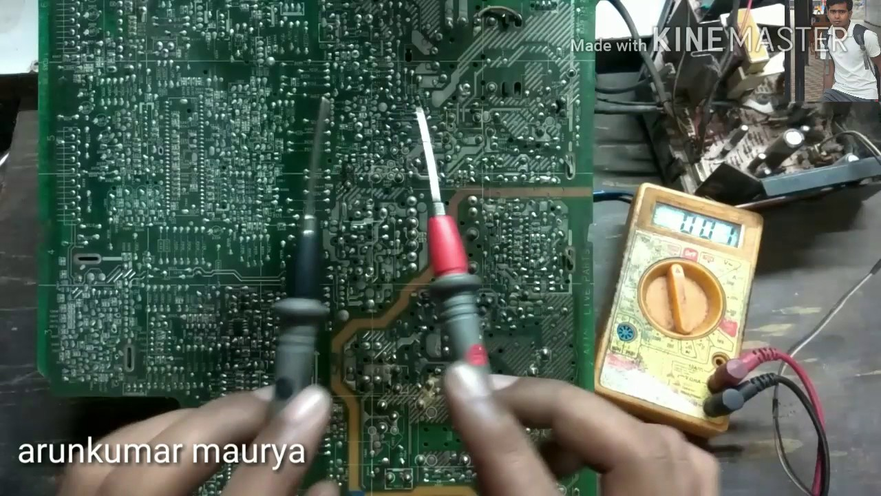 How To Solve Problem When Tv In Stand By Mode Youtube Lcd Watch Circuit Diagram Powersupplycircuit