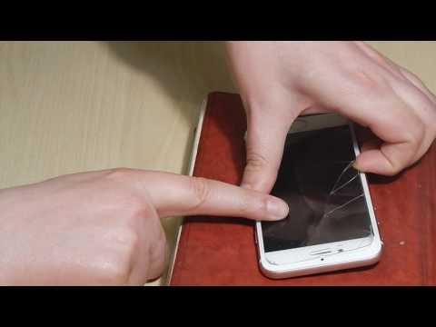 Как снять защитное стекло с телефона в домашних условиях с айфон