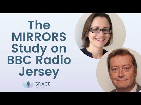MIRRORS Study on BBC Radio Jersey