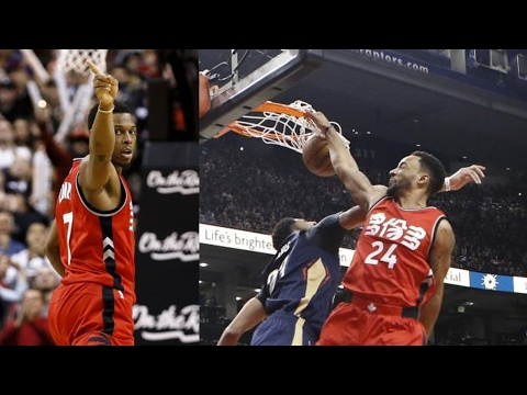 Kyle Lowry Game Winner! Powell Dunks on...