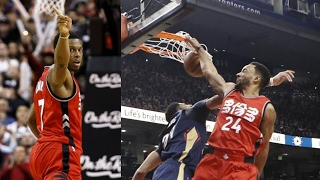Kyle Lowry Game Winner! Powell Dunks on Anthony Davis! Pelicans vs Raptors