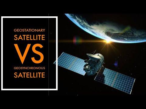Geostationary Satellite vs Geosynchronous Satellite