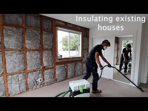 Wall Insulation in old NZ houses