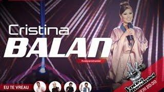 Cristina Balan-Down on my knees(Ayo Joyful)-Vocea Romaniei 2015-Ep.2-Sezonul5