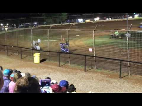 Joshua Gentry Feature Win I-44 Speedway 6-10-17