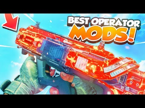 How To Unlock & Use Operator Mods on CoD BO4 !! ( Best Operator Mods to Use on CoD BO4 )
