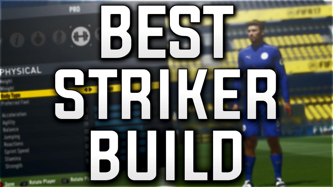 Best Striker Build Pro Clubs