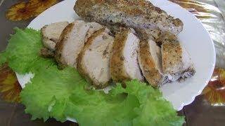 Куриная грудка Рецепт куриной грудки запеченной в духовке