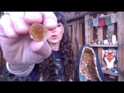 Citrine Healing Crystal Balance your Solar Chakra ~Contessa's Corner!