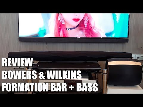 Review Bowers & Wilkins Formation Bar + Bass Nueva Barra de sonido Multiroom 2019