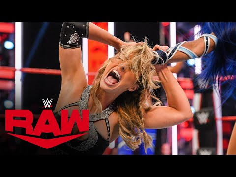 Sasha Banks & Bayley vs. The IIconics – WWE Women's Tag Team Championship Match: Raw, June 22, 2020