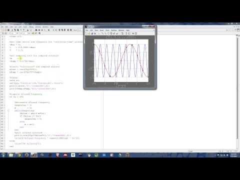 Sampling Signals (6/13) - Sampling a Sinusoid (Matlab)