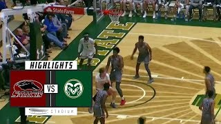 Southern Illinois vs. Colorado State Basketball Highlights (2018-19) | Stadium