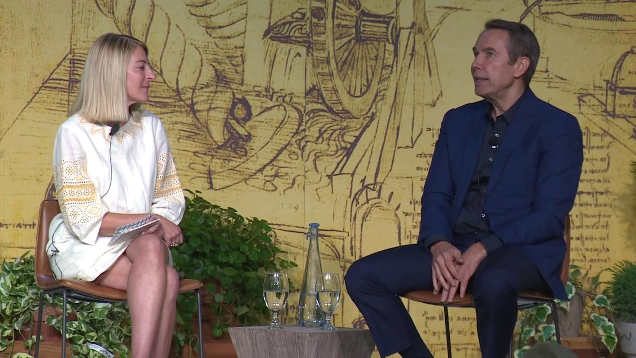 4db842d083f1 Jeff Koons and Heidi Zuckerman in Conversation About Leonardo Da Vinci