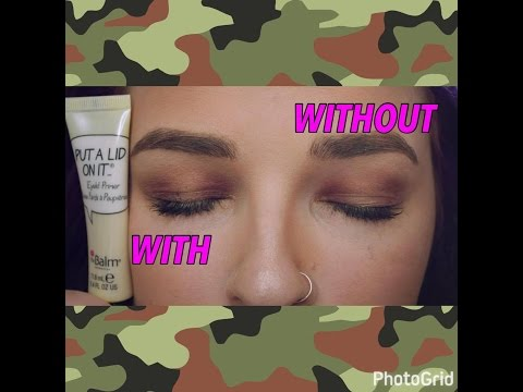 IT DIDNT DO ANYTHING?? The Balm Eyelid Primer | Put a Lid On It | Cerise1307