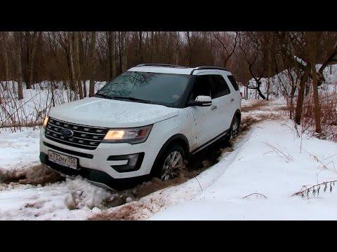 Ford Explorer V6 (рестайл 2017) - Бегемот внушающий ужас своими размерами и звуком