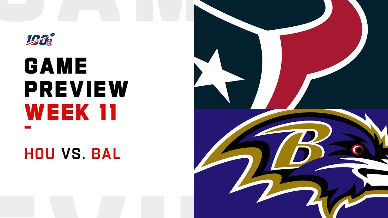 How to Watch Texans vs. Ravens
